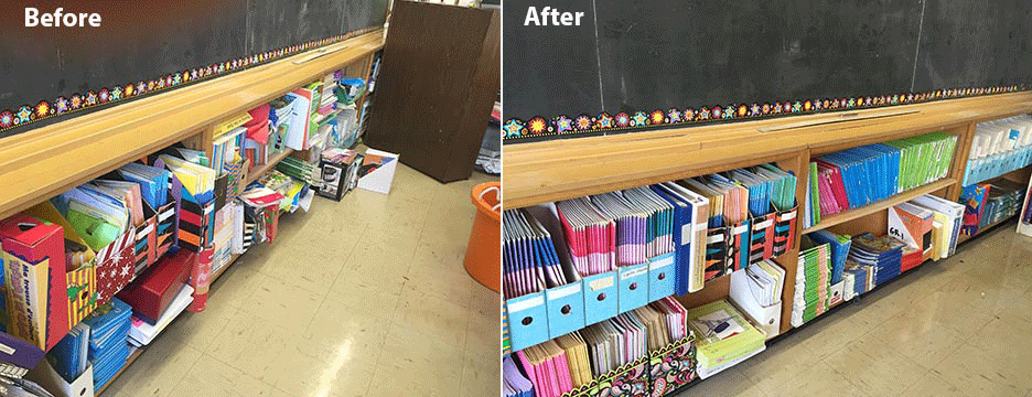 classroom organizing project