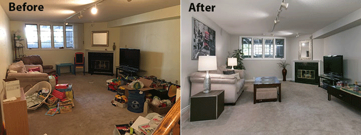 Before And After Photo Of Staged Room Part 33