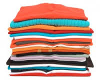 Neatly fold your clothes