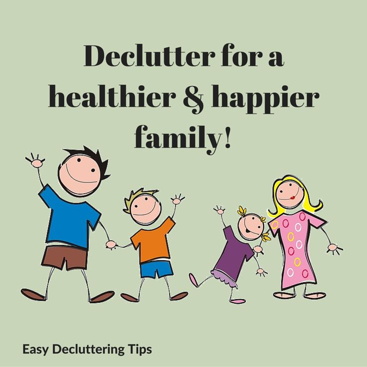 march break home declutter