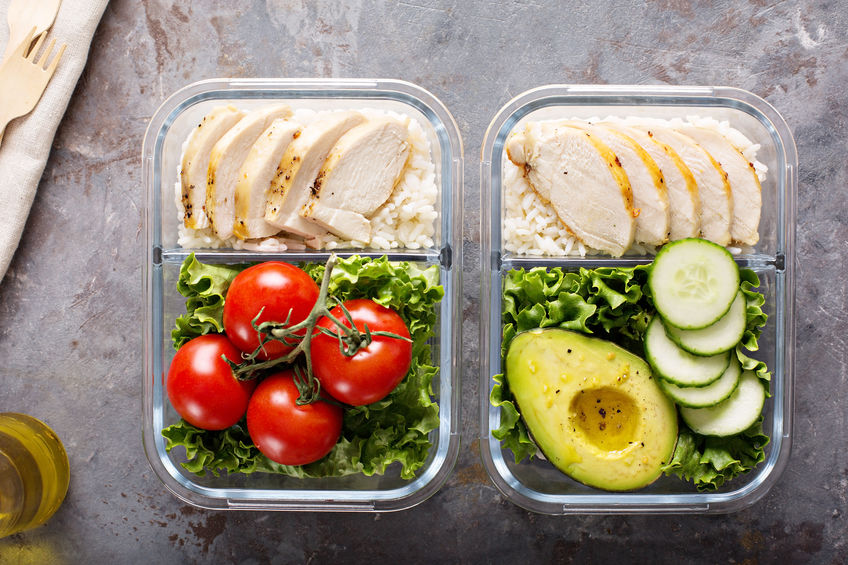 create space for health meal prep