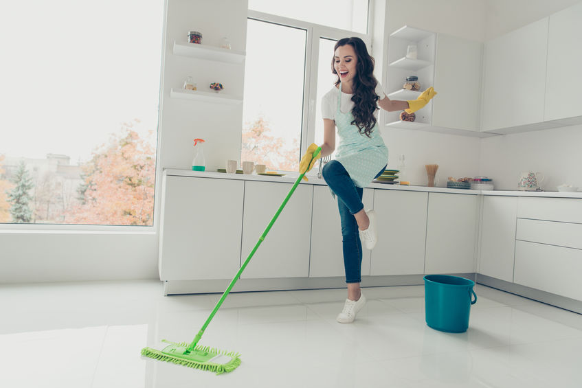 spring cleaning during COVID-19