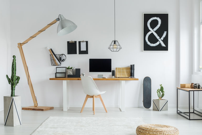 Creative space for working at home